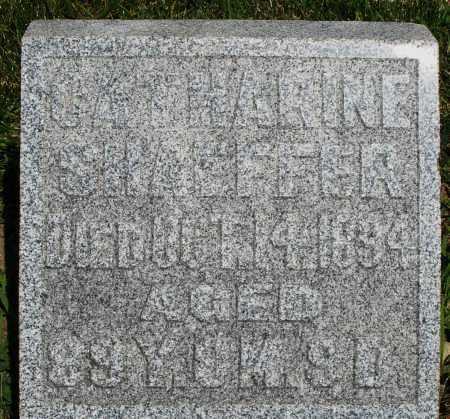 SHAEFFER, CATHARINE - Montgomery County, Ohio | CATHARINE SHAEFFER - Ohio Gravestone Photos