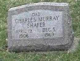SHAFER, CHARLES MURRAY - Montgomery County, Ohio | CHARLES MURRAY SHAFER - Ohio Gravestone Photos