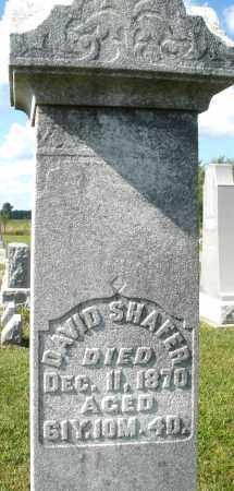 SHAFER, DAVID - Montgomery County, Ohio | DAVID SHAFER - Ohio Gravestone Photos