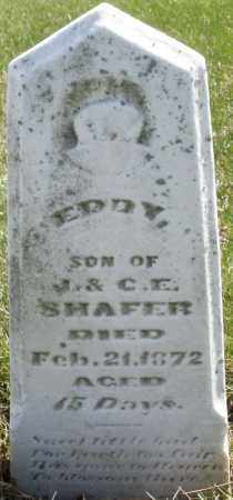 SHAFER, EDDY - Montgomery County, Ohio | EDDY SHAFER - Ohio Gravestone Photos