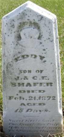 SHAFER, EDDY - Montgomery County, Ohio   EDDY SHAFER - Ohio Gravestone Photos
