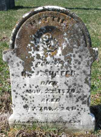 SHAFER, HATTIE - Montgomery County, Ohio | HATTIE SHAFER - Ohio Gravestone Photos