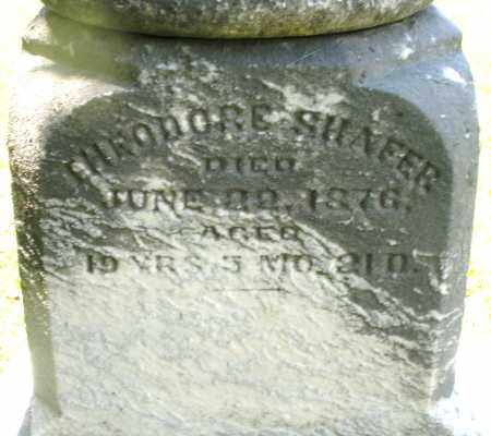 SHAFER, THEODORE - Montgomery County, Ohio | THEODORE SHAFER - Ohio Gravestone Photos