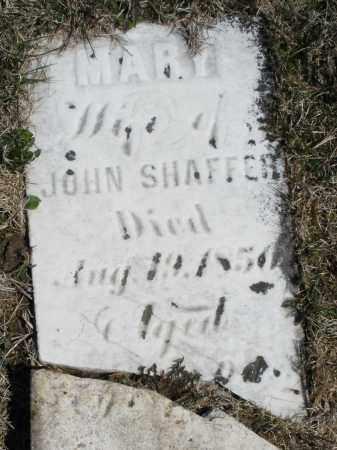 SHAFFER, MARY - Montgomery County, Ohio | MARY SHAFFER - Ohio Gravestone Photos