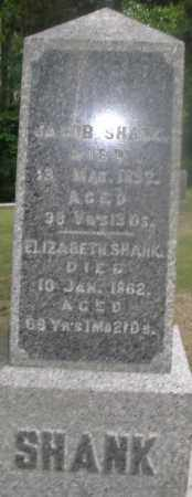 SHANK, JACOB - Montgomery County, Ohio | JACOB SHANK - Ohio Gravestone Photos