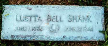 SHANK, LUETTA - Montgomery County, Ohio | LUETTA SHANK - Ohio Gravestone Photos