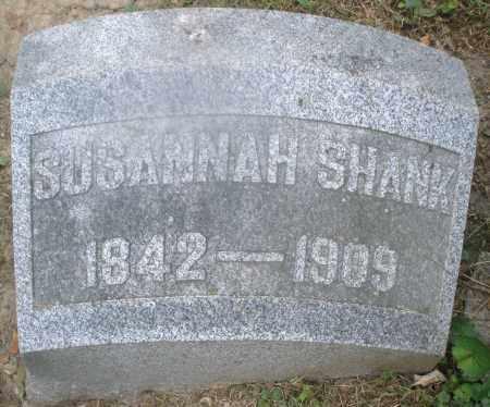 SHANK, SUSANNAH - Montgomery County, Ohio | SUSANNAH SHANK - Ohio Gravestone Photos