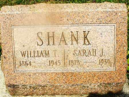 SHANK, SARAH J. - Montgomery County, Ohio | SARAH J. SHANK - Ohio Gravestone Photos