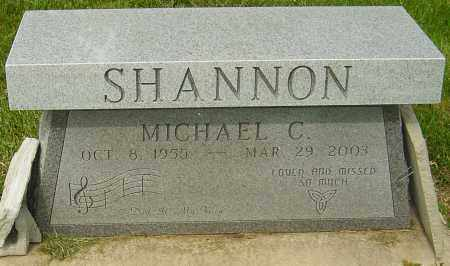 SHANNON, MICHAEL C - Montgomery County, Ohio | MICHAEL C SHANNON - Ohio Gravestone Photos