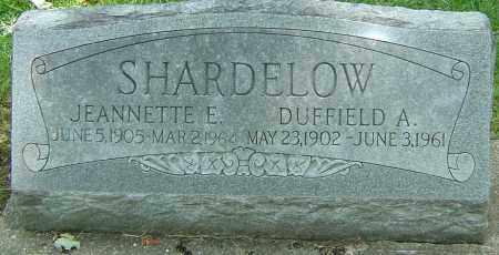 DELSCAMP SHARDELOW, JEANNETTE ELIZABETH - Montgomery County, Ohio | JEANNETTE ELIZABETH DELSCAMP SHARDELOW - Ohio Gravestone Photos