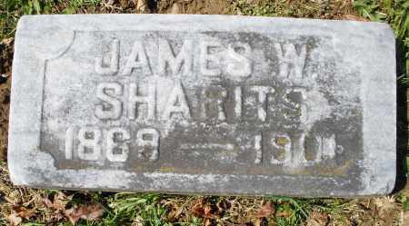 SHARITS, JAMES  W. - Montgomery County, Ohio | JAMES  W. SHARITS - Ohio Gravestone Photos
