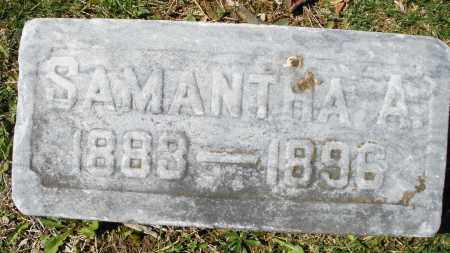 SHARITS, SAMANTHA A. - Montgomery County, Ohio | SAMANTHA A. SHARITS - Ohio Gravestone Photos