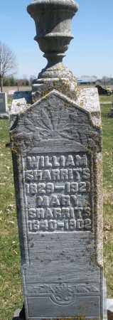 SHARRITS, WILLIAM - Montgomery County, Ohio | WILLIAM SHARRITS - Ohio Gravestone Photos