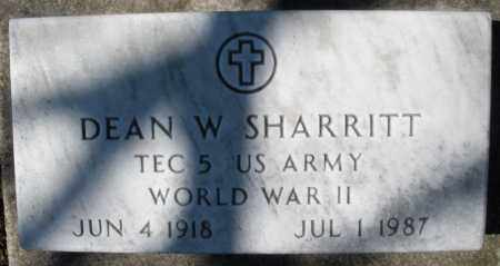 SHARRITT, DEAN W. - Montgomery County, Ohio | DEAN W. SHARRITT - Ohio Gravestone Photos