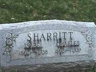 SHARRITT, ISABEL - Montgomery County, Ohio | ISABEL SHARRITT - Ohio Gravestone Photos