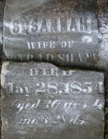 SHAW, SUSANNAH - Montgomery County, Ohio | SUSANNAH SHAW - Ohio Gravestone Photos