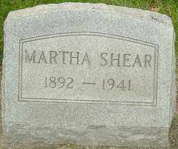 SHEARER, MARTHA - Montgomery County, Ohio | MARTHA SHEARER - Ohio Gravestone Photos