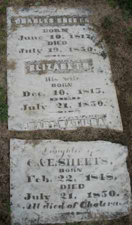 SHEETS, CHARLES - Montgomery County, Ohio | CHARLES SHEETS - Ohio Gravestone Photos