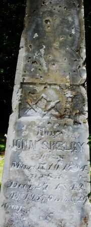 SHELBY, JOHN - Montgomery County, Ohio   JOHN SHELBY - Ohio Gravestone Photos