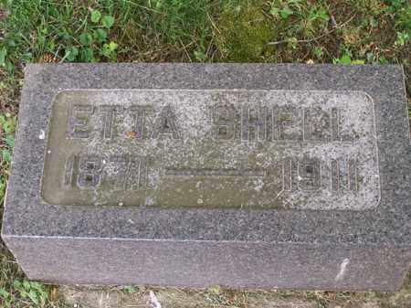 SHELL, ETTA - Montgomery County, Ohio | ETTA SHELL - Ohio Gravestone Photos