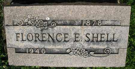 SHELL, FLORENCE E. - Montgomery County, Ohio | FLORENCE E. SHELL - Ohio Gravestone Photos