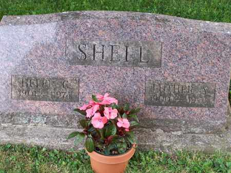 SHELL, LUTHER ALBERT - Montgomery County, Ohio | LUTHER ALBERT SHELL - Ohio Gravestone Photos