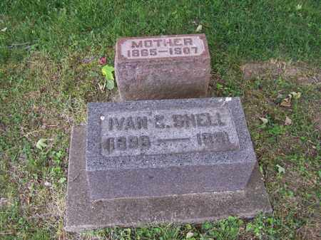 SHELL, IVAN C - Montgomery County, Ohio | IVAN C SHELL - Ohio Gravestone Photos