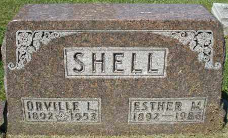 SHELL, ESTHER M. - Montgomery County, Ohio | ESTHER M. SHELL - Ohio Gravestone Photos