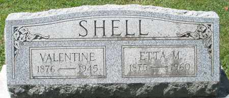 SHELL, VALENTINE - Montgomery County, Ohio | VALENTINE SHELL - Ohio Gravestone Photos