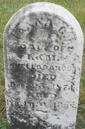 SHELLBARGER, ANNA - Montgomery County, Ohio | ANNA SHELLBARGER - Ohio Gravestone Photos