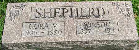STEPHENS SHEPHERD, CORA MAY - Montgomery County, Ohio | CORA MAY STEPHENS SHEPHERD - Ohio Gravestone Photos