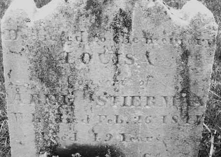 SHERMAN, LOUISA - Montgomery County, Ohio | LOUISA SHERMAN - Ohio Gravestone Photos