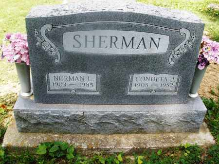 SHERMAN, CONDETA J. - Montgomery County, Ohio | CONDETA J. SHERMAN - Ohio Gravestone Photos