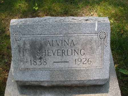 SHEVERLING, ALVINA - Montgomery County, Ohio | ALVINA SHEVERLING - Ohio Gravestone Photos