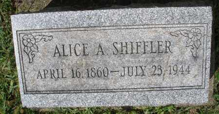 SHIFFLER, ALICE A. - Montgomery County, Ohio | ALICE A. SHIFFLER - Ohio Gravestone Photos