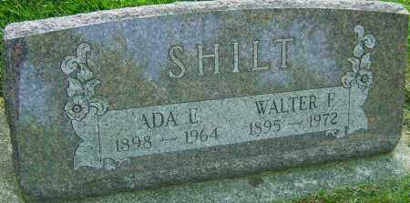 SHILT, ADA E - Montgomery County, Ohio | ADA E SHILT - Ohio Gravestone Photos