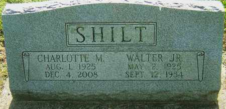SHILT JR, WALTER - Montgomery County, Ohio | WALTER SHILT JR - Ohio Gravestone Photos