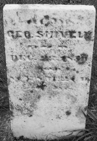 SHIVELY, GEORGE - Montgomery County, Ohio   GEORGE SHIVELY - Ohio Gravestone Photos