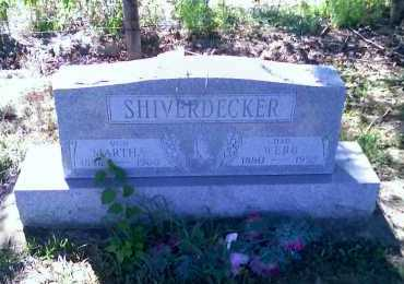 SHIVERDECKER, MARTHA - Montgomery County, Ohio | MARTHA SHIVERDECKER - Ohio Gravestone Photos