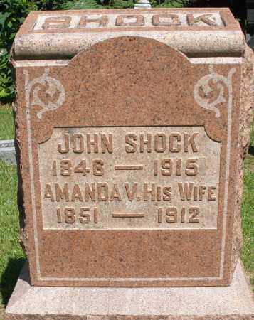 SHOCK, JOHN - Montgomery County, Ohio | JOHN SHOCK - Ohio Gravestone Photos