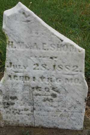 SHOMO, INFANT - Montgomery County, Ohio   INFANT SHOMO - Ohio Gravestone Photos