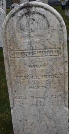 SHOMO, JOHN - Montgomery County, Ohio | JOHN SHOMO - Ohio Gravestone Photos