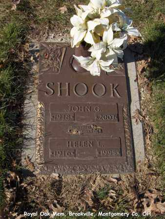 NIGHMAN SHOOK, HELEN - Montgomery County, Ohio | HELEN NIGHMAN SHOOK - Ohio Gravestone Photos