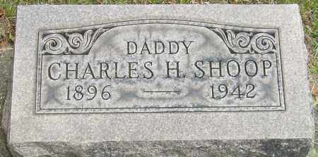 SHOOP, CHARLES H - Montgomery County, Ohio | CHARLES H SHOOP - Ohio Gravestone Photos
