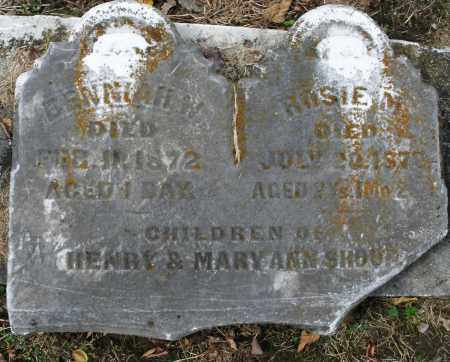 SHOUP ?, BENNLAH W. INFANT - Montgomery County, Ohio | BENNLAH W. INFANT SHOUP ? - Ohio Gravestone Photos