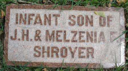 SHROYER, INFANT SON - Montgomery County, Ohio | INFANT SON SHROYER - Ohio Gravestone Photos