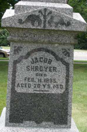 SHROYER, JACOB - Montgomery County, Ohio | JACOB SHROYER - Ohio Gravestone Photos