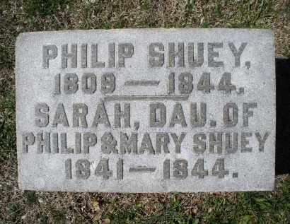SHUEY, PHLIP - Montgomery County, Ohio | PHLIP SHUEY - Ohio Gravestone Photos