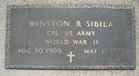 SIBILA, WINSTON R. - Montgomery County, Ohio | WINSTON R. SIBILA - Ohio Gravestone Photos