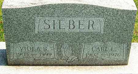 SIEBER, CARL - Montgomery County, Ohio | CARL SIEBER - Ohio Gravestone Photos